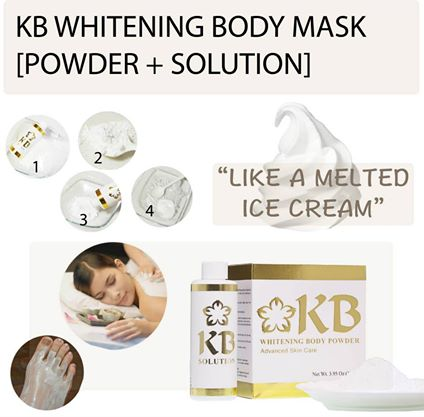 KB Whitening Body Mask