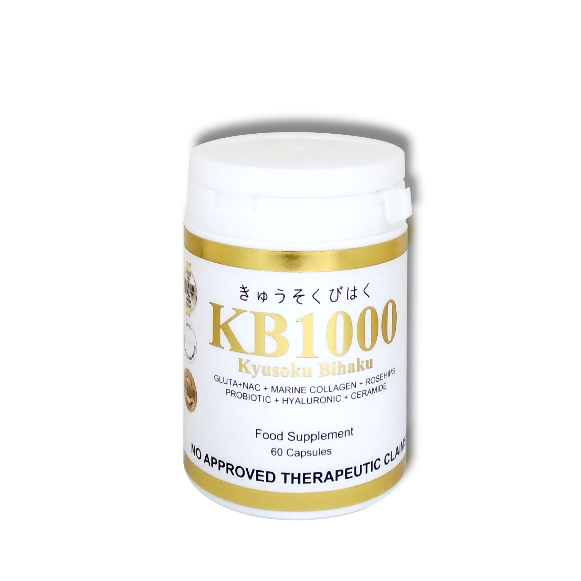 -NEW- KB 1000 Skin Glowing Whitening + Anti Aging + Moisturizing