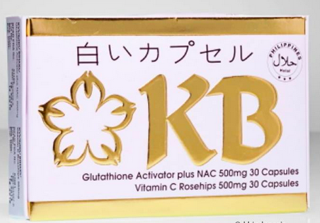 KB Whitening Capsules 3 Months Supply