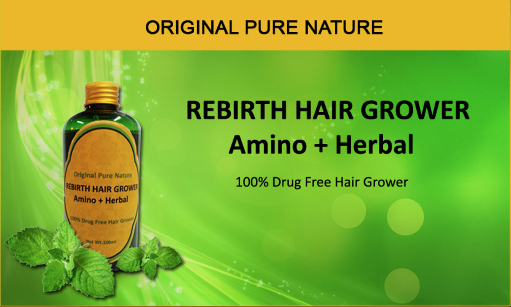 REBIRTH Hair Grower 250ml
