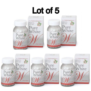 Shiseido purewhite w 270 tablets (set of 5)