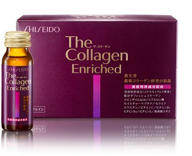 Shiseido the collagen enriched drink(10 bottles) 50ML