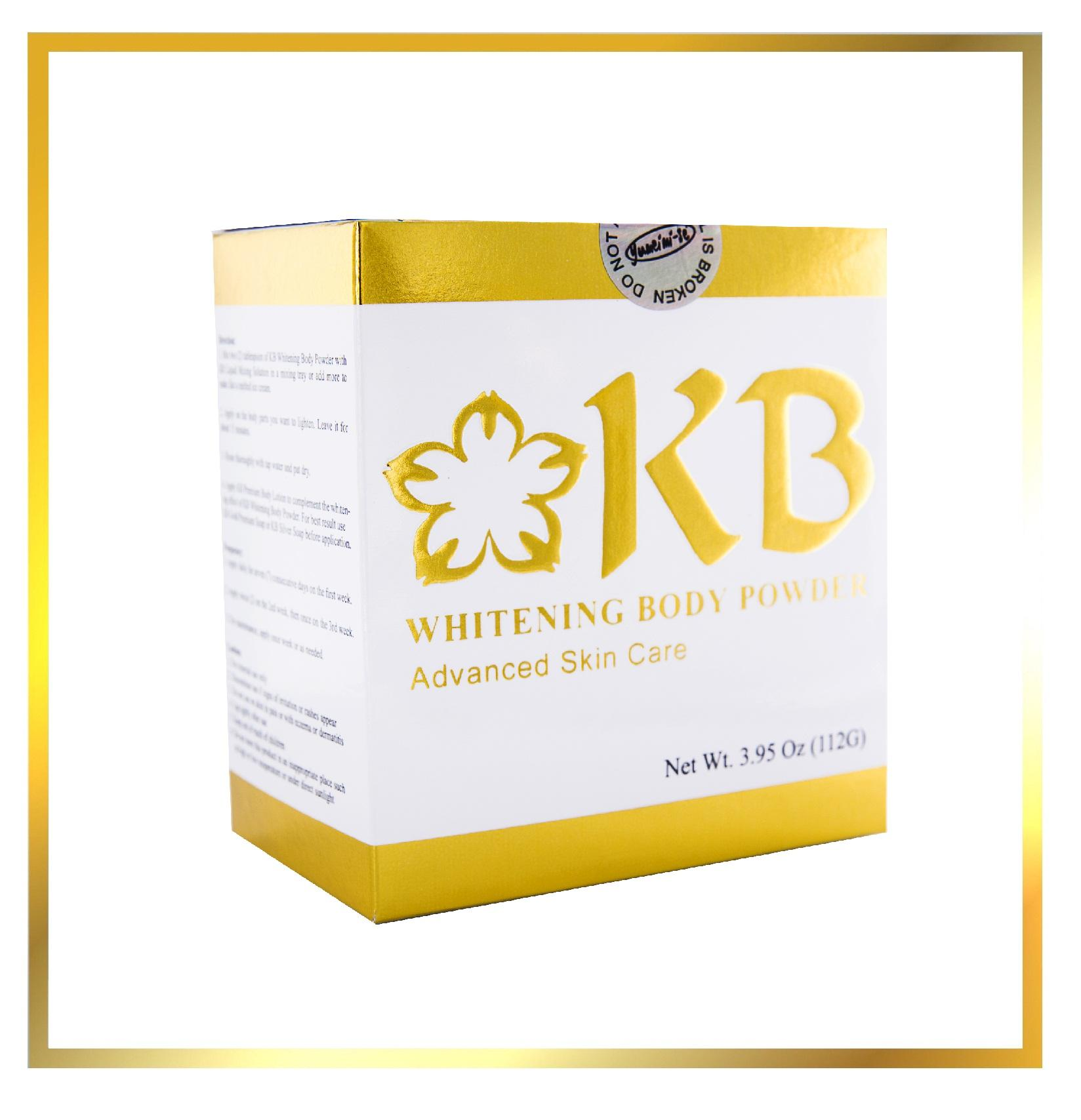 KB Whitening Body Powder