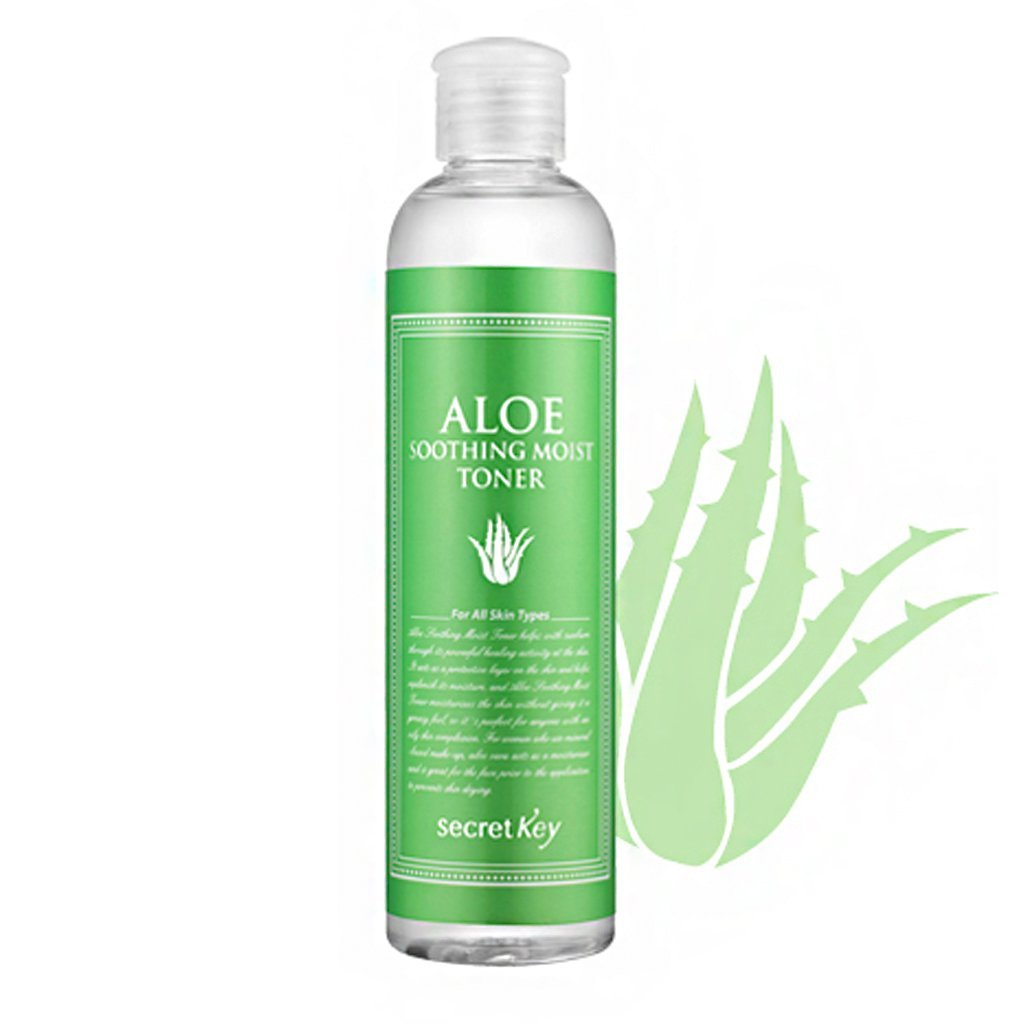 Aloe Soothing Moist Toner 248ml