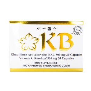 KB Whitening Capsules 6 Months Supply + 1 Month