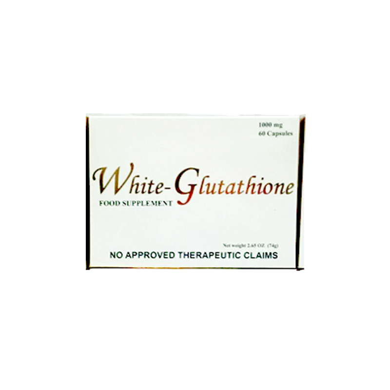 White Glutathione Whitening Food Supplement